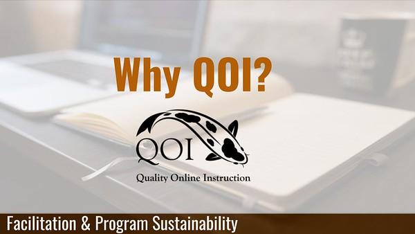 Quality Online Instruction (QOI)