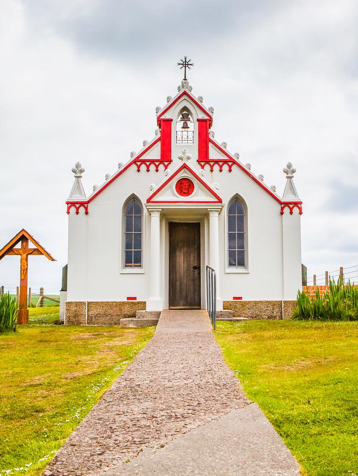 奥克尼意大利教堂(Italian Chapel),囚犯作品
