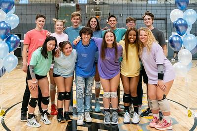 Storm Volleyball Senior Night 2021