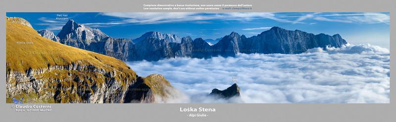 Loska Stena - Alpi Giulie  Foto Claudio Costerni n. 071009-462747