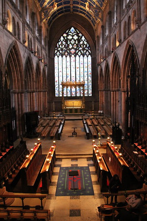 Carlisle Cathedral - 6 February 2016