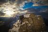 """""""Last Climb"""" IX, East end of Mount Rundle, Alberta, Canada."""