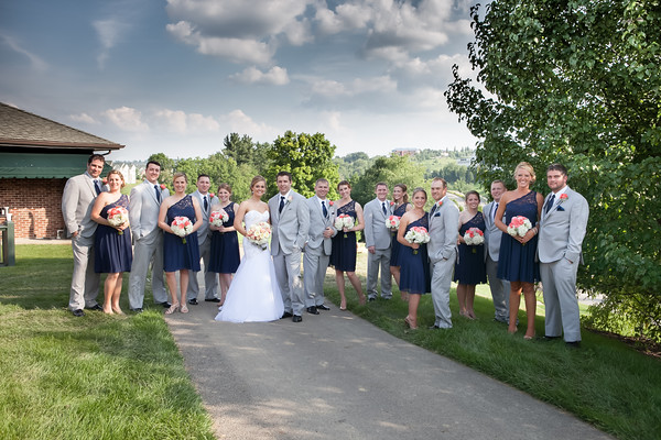 Nicole + Ryan - Southpoint Golf Course