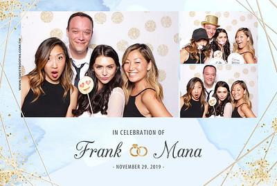 Frank & Mana's Wedding