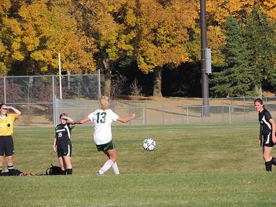 Warrior Girls Soccer vs PACT Charter 10-1-12