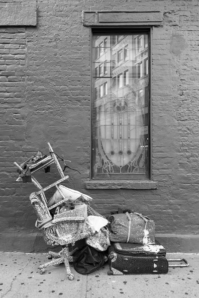 Urban Still Life - New York, NY, USA - August 18, 2015