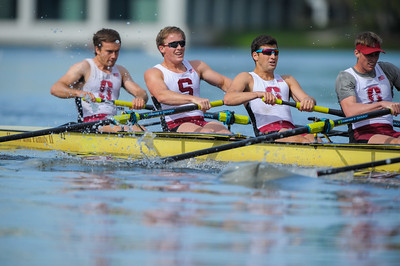 Stanford Men's Rowing at the 2017 Stanford Invitational, 2017/4/15