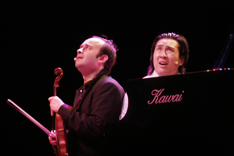 Igudesman and Joo, Ciak theatre, Milan, 2007
