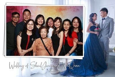ShenYeong & XiuQuan 7 Dec 19 Photobooth Album