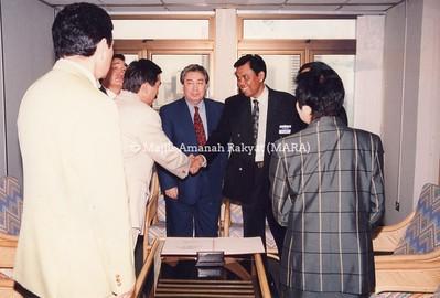 1994 - LAWATAN PEGAWAI DARI KAZAKHSTAN KE IBU PEJABAT MARA