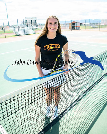 2019 EHS Girls Tennis Individual Pictures