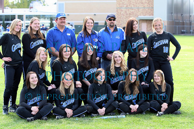 JV Softball team pics