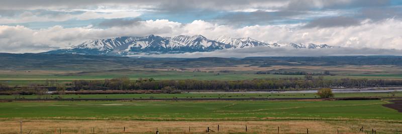 Montana Crazy Mountain In Spring
