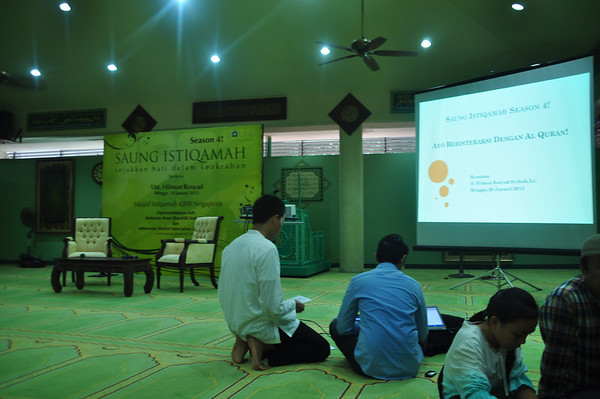 2013 Januari Saung Istiqamah