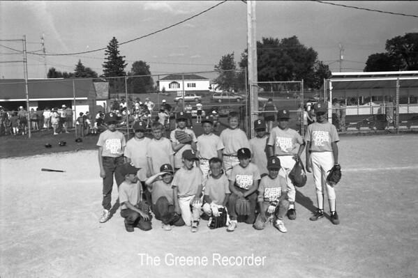 1993 Baseball and Softball