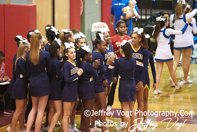 10-27-2018 Bethesda Chevy Chase High School at MCPS D2 Cheerleading Championship at Montgomery Blair High School, Photos by Jeffrey Vogt Photography