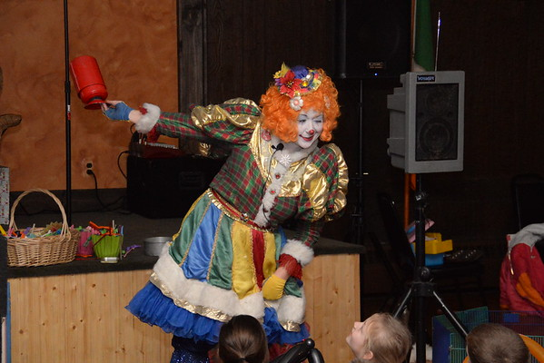 Detroit Fire Clown Team Christmas Party 2014