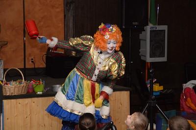 Detroit Fire Clown Team Christmas Party 2014