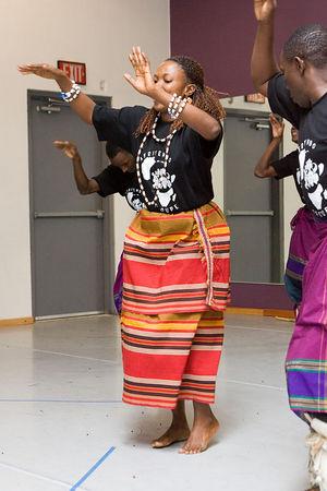 2006 Uganda Dance Troupe at EDDA