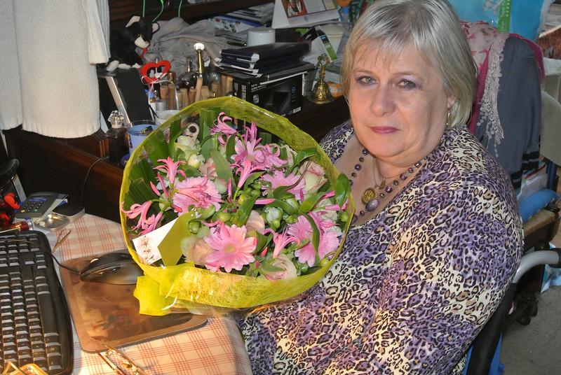 'RONNY & PASCAL' Bloemen voor Maintje 2012-11-11 02.JPG