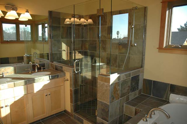 Dillehay residence: master bath