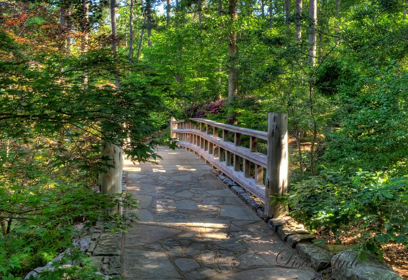 Sunrise Bridge at Garvin Gardens