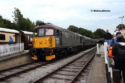 Ecclesbourne Valley Diesel Gala, 11-08-2018