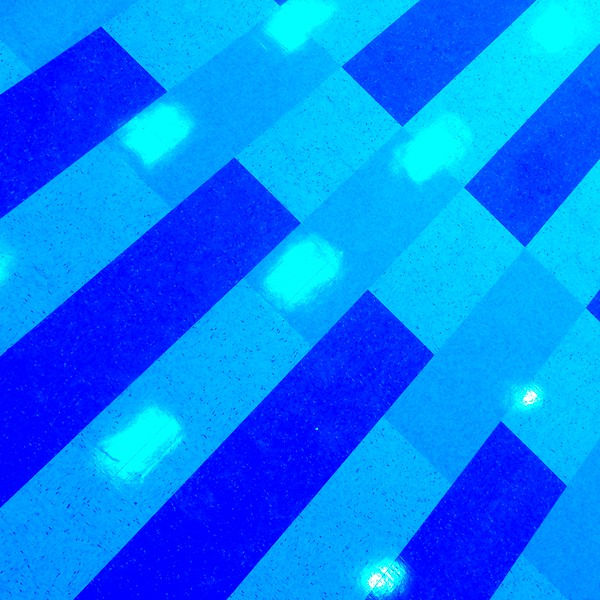 Pattern and Reflections - Blue