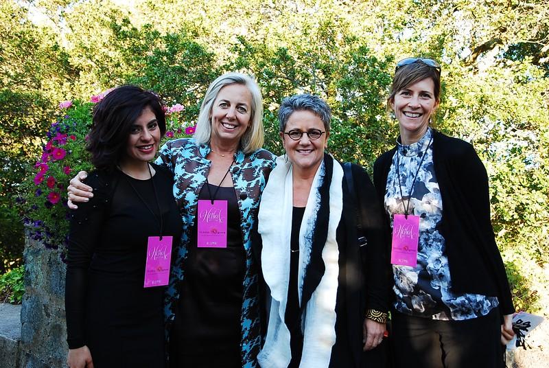 Diana Cruz, Ellyn Weisel, Kim Mazzuca and Graunya Holsen