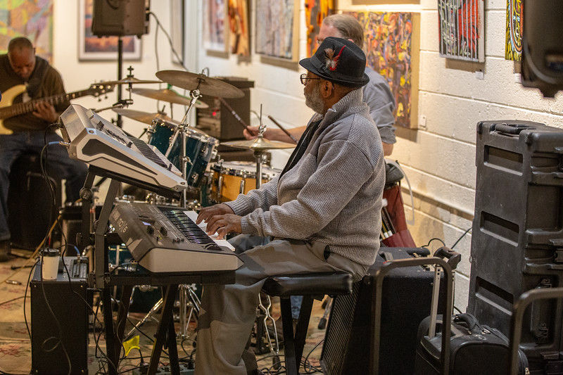 2019 March 15, Billy Davis and Rhythm Machine