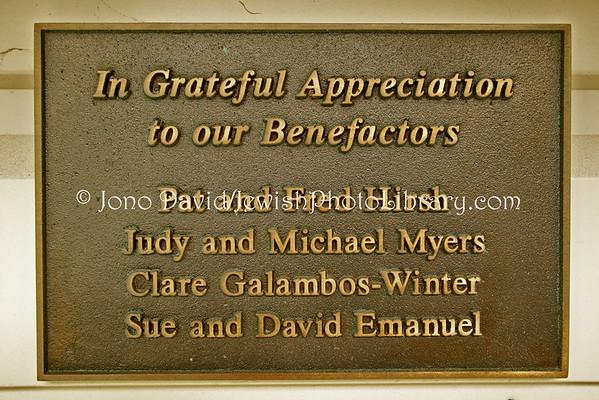NEW ZEALAND, Wellington. Wellington Progressive Jewish Congregation, Temple Sinai. (8.2010)