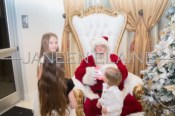 Becca Family with Santa