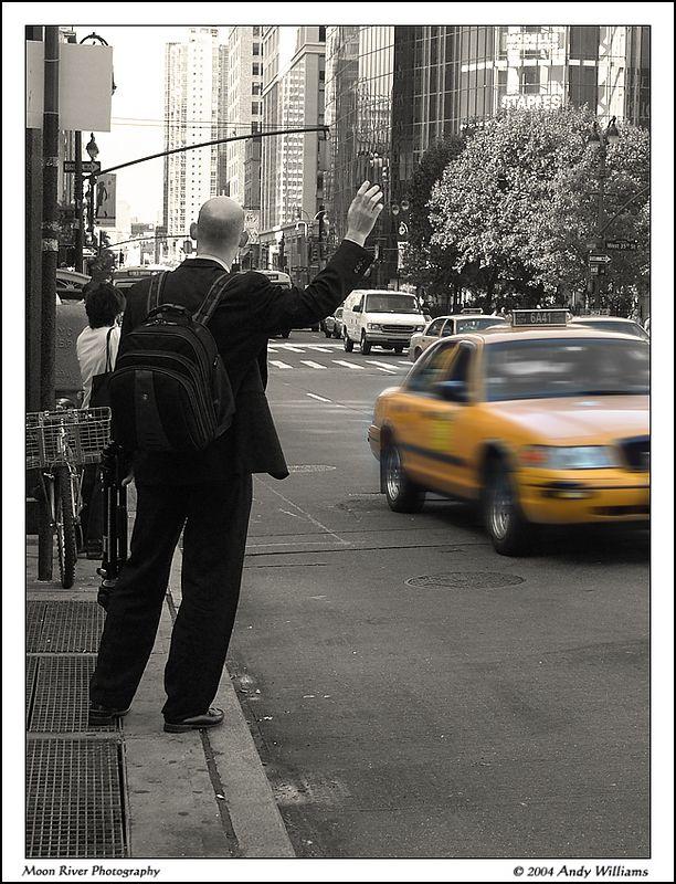 The Raised Hand of Urban Transportation