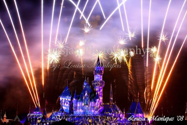 Disneyland CA Fireworks