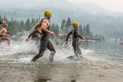 Donner Lake Tri Aquathon Swim