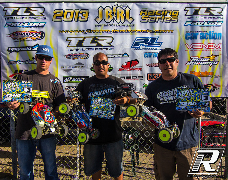 Intermediate Buggy 1st Mike Acero, 2nd Mike Shirley, 3rd Charlie Love