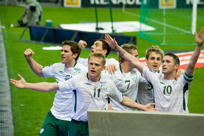 The Irish team looking for love, Stade de France, Paris, France