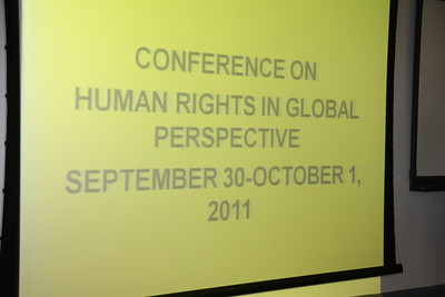 Human Rights in Global Perspective Conference @ Howard University Sept 30