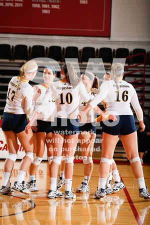 9.29.2015 - Augustana Volleyball at NCC