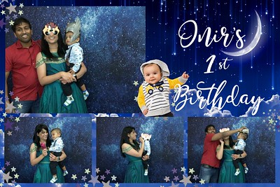 Onir's 1st Birthday