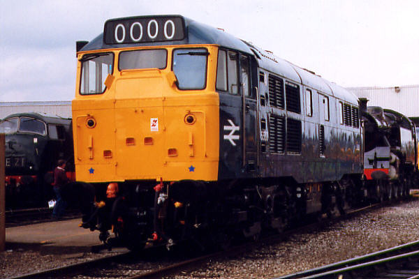 31162 at Toton TMD on the 30th August 1998
