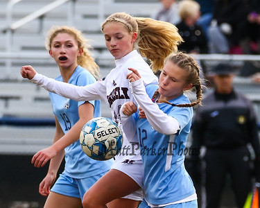 2018-10-30 York Girls Soccer vs Greely Semi