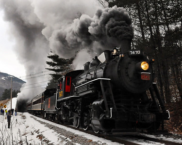 Steam In The Snow 2012