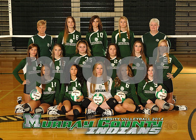 MCHS Volleyball 2014