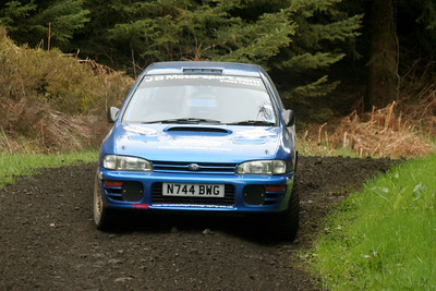 S. M. C. Members at The Tour Of Hamsterley Rally (13th of May 2012)