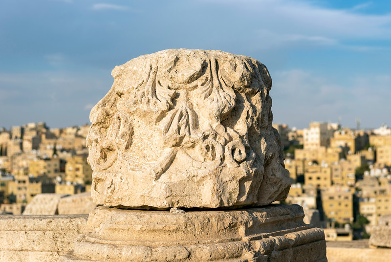 Column Capital, Amman Citadel
