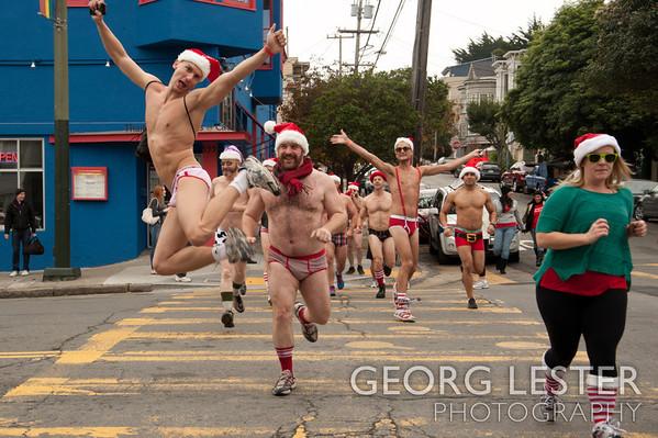 Santa Skivvies Run 2012