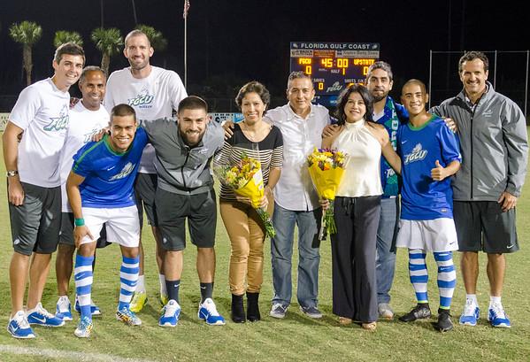 FGCU Men's Soccer Senior Night