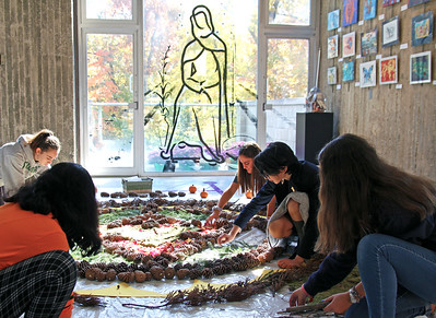 Diwali Mandala Progress