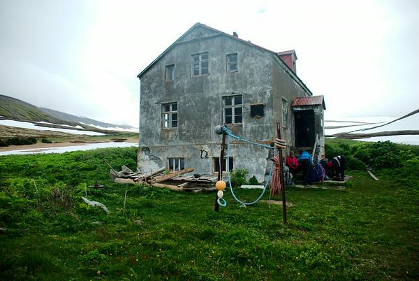 Kvíar - Hornvík